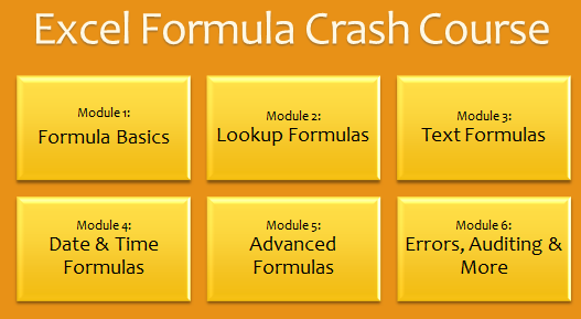 Excel Formula Crash Course - Download