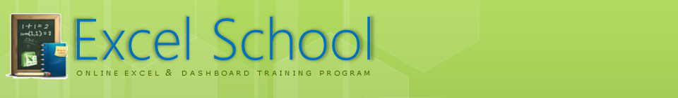 Excel School header logo
